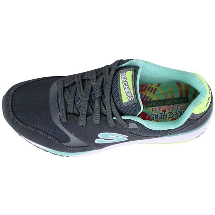Chaussures OG 90 RAD RUNNER Gris Femme Skechers 1VXeumr