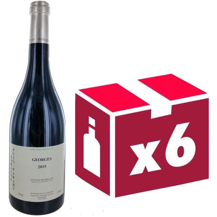 Côtes du Roussillon Puig Parahy Georges 2015 - Vin Rouge