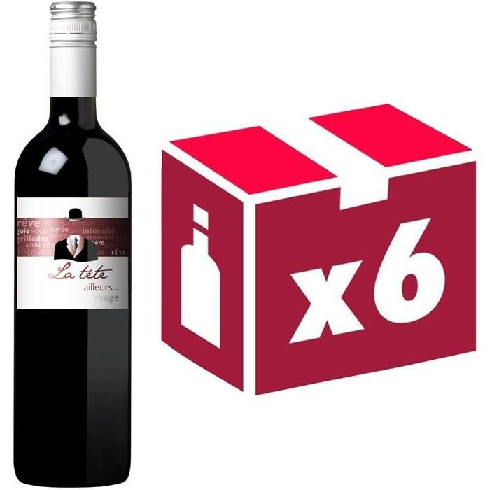 Alma Cersius - La tête ailleurs - IGP Pays d'Oc - 2015 - Vin rougeVIN ROUGE