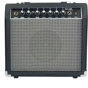 Ampli guitare 15 watts reverb noir et gris