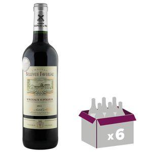 VIN ROUGE Château Bellevue Favereau 2015 Bordeaux Supérieur