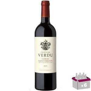 VIN ROUGE Château Verdu 2015 Lussac-Saint-Emilion - Vin roug