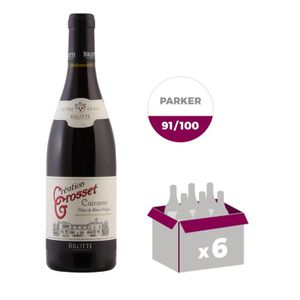 VIN ROUGE BROTTE 2015 Côtes du Rhône Village Cairanne Créati