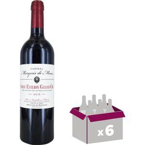 VIN ROUGE Marquis de Mons Saint Emilion Grand Cru 2015 - Vin