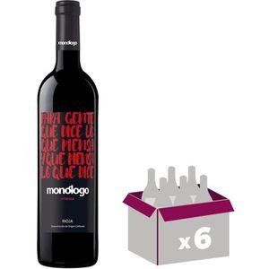 VIN ROUGE Monologo 2015 Crianza - Vin rouge d'Espagne
