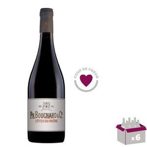 VIN ROUGE 3 ACHETEES = 3 OFFERTES Bouchard & Cie 2017 Côtes