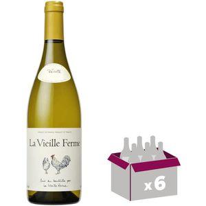 VIN BLANC La Vieille Ferme Luberon - Vin blanc x6