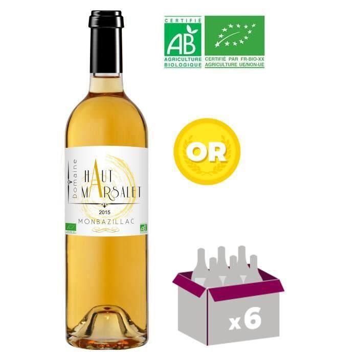 domaine haut marsalet 2015 monbazillac vin blanc du sud ouest bio achat vente vin blanc. Black Bedroom Furniture Sets. Home Design Ideas