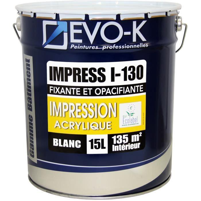 SOUS-COUCHE - ENDUIT EVO-K Sous-couche professionnelle plaque de plâtre