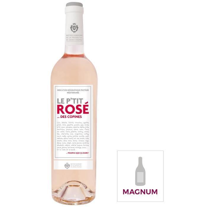 VIN ROSÉ Magnum Le P'tit Rosé des Copines IGP Méditerranée
