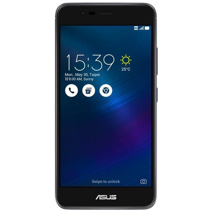 Asus Zenfone 3 Max Gris 52 HD 4G 32Go