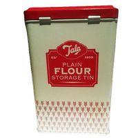 BOITE ALIMENTAIRE Boîte à farine vintage