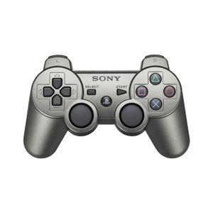 MANETTE JEUX VIDÉO Manette de Jeu DualShock 3 Gris Métal PS3