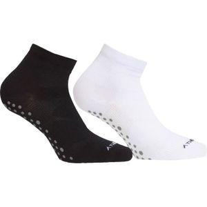 82a30b11a091c Chaussettes noir femme - Achat / Vente Chaussettes noir femme pas ...