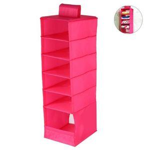 BOITE DE RANGEMENT Boîte de rangement à suspendre, rose