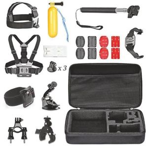 PACK ACCESSOIRES PHOTO Kit Accessoires Caméras Sports pour GoPro Hero I03