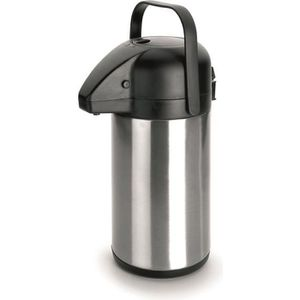 BOUTEILLE ISOTHERME IBILI 741202 Pichet à Pompe Inox 2.2 litres Thermo