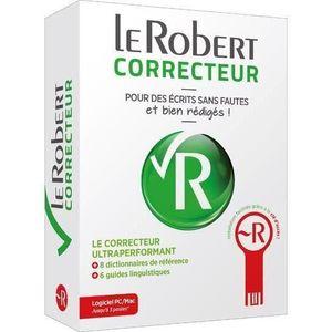 DICTIONNAIRES Livre - dictionnaire le Robert correcteur