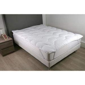 SUR-MATELAS DODO Surmatelas 160 x 200 - Polyester fibre haute