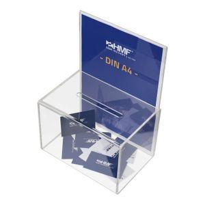 Urne décorative HMF 46916 Boîte à donations, boîte d'action, urne