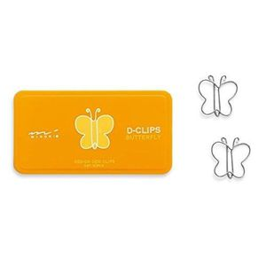 PACK FOURNITURES Midori D-Clips Butterfly