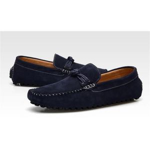 MOCASSIN Cuir Homme mocassin chaussures business formel ble