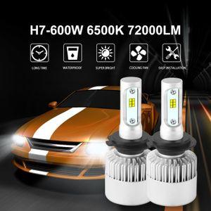 PHARES - OPTIQUES 72000LM 600W S2 CSP LED phare de voiture auto H7 a