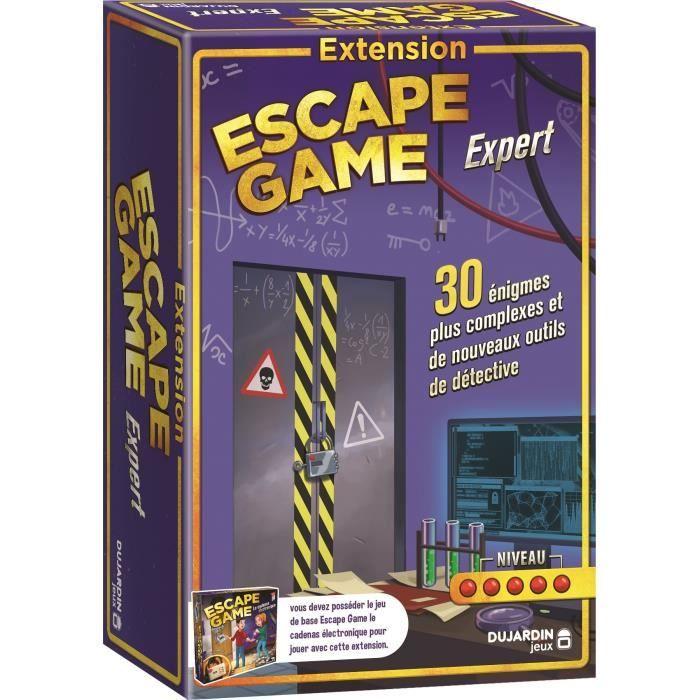 DUJARDIN Jeu d'action escape game l'extension experts