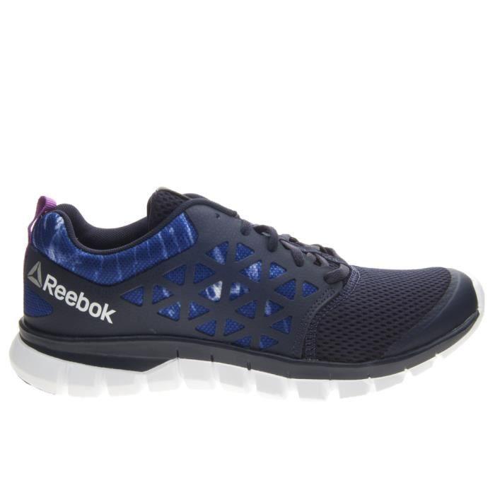 REEBOK Chaussure de running Sublite XT Cushion - Femme - Bleu foncé