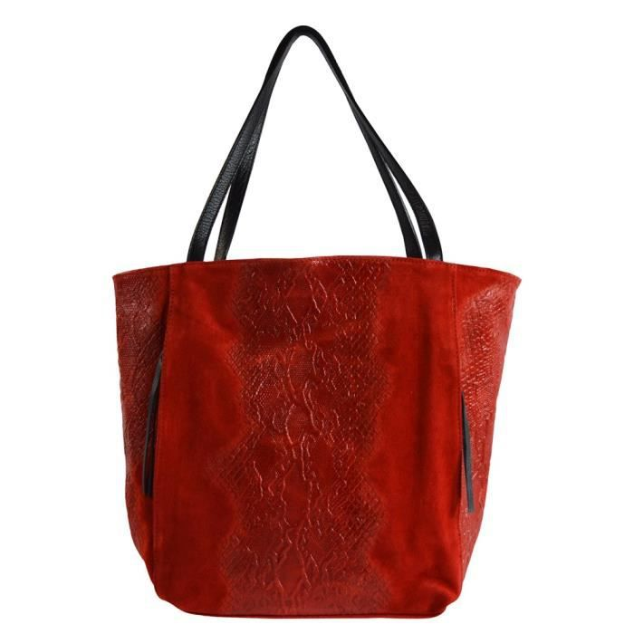 Sacs femme Chicca Borse 80024ROSSO210636