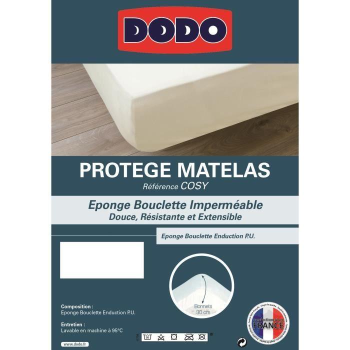Protege Matelas Impermeable 160x200 Achat Vente Pas Cher