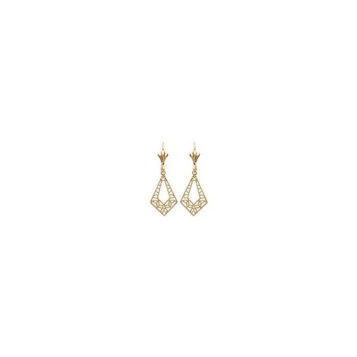 Isady - Henrietta Gold - Boucles doreilles - Plaqué or jaune 18K - Pendants
