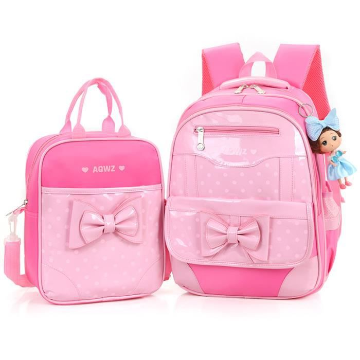 Mignon filles sac cartable 1 - 3 - Grades paquet 6 gardes princesse enfants