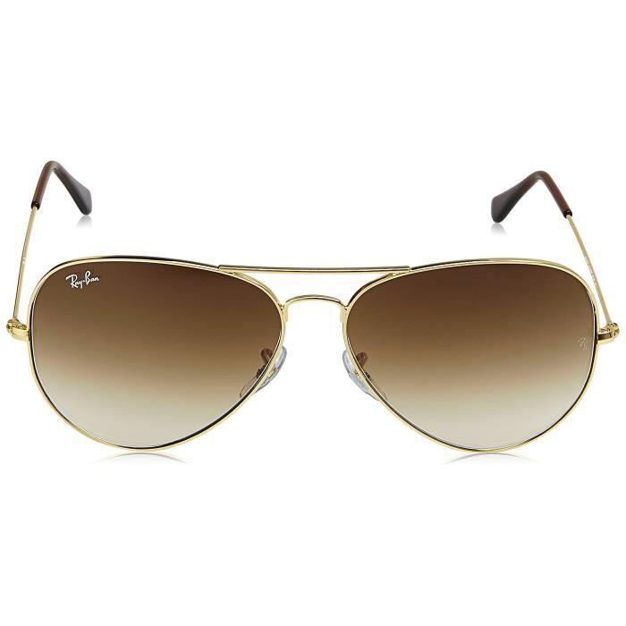 Ray-ban Dégradé Lunettes de soleil aviateur - (0rb3025i001 - 5162 | 62 | cristal brun dégradé de couleur) XWHKS