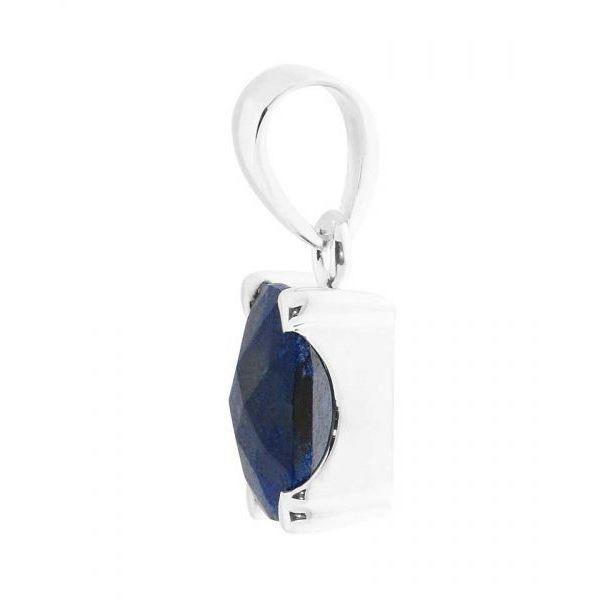 Pendentif argent Lapis Lazuli