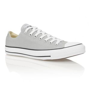 CONVERSE Baskets Chuck Taylor All Star Season Ox Homme Gris
