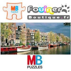 PUZZLE Jouet Puzzle MB Panoramique 1000 pcs Canal Prinsen