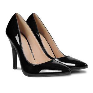 ESCARPIN Chaussures à talons hauts noires pour femme taille