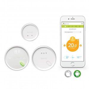 THERMOSTAT D'AMBIANCE Thermostat connecté et intelligent QIVIVO pour cha