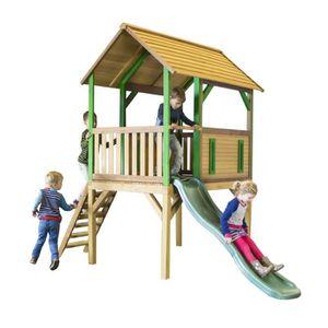 MAISONNETTE EXTÉRIEURE AXI maison enfant exterieur en bois Bogo