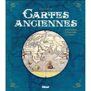 LIVRE GÉOGRAPHIE Livre - cartes anciennes ; un voyage à travers le
