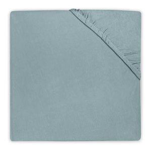 DRAP HOUSSE Drap housse en coton Jollein 40x80cm - Vert d'eau