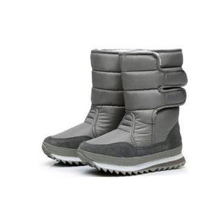 BOTTE Hiver Bottes coton bottes neige imperméables pluie
