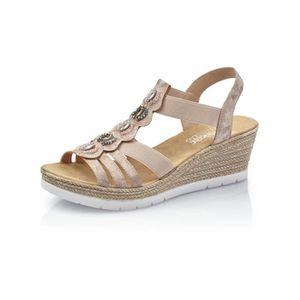 10c03a27db26 SANDALE - NU-PIEDS sandales   nu-pieds 619b2 femme rieker 619b2