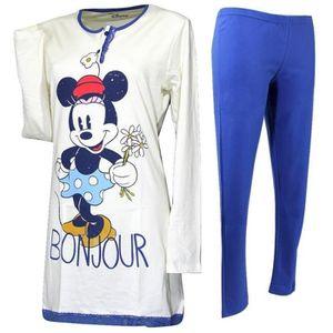 VÉLO ENFANT Filles Pyjama fille Disney en jersey de coton Maxi