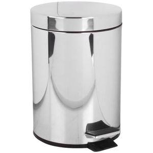 poubelle salle de bain achat vente poubelle salle de bain pas cher cdiscount. Black Bedroom Furniture Sets. Home Design Ideas