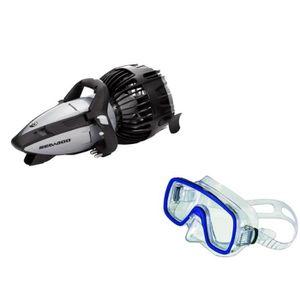 KIT DE RANDO AQUATIQUE SEADOO Scooter de Plongée Seascooter RS2 + Masque