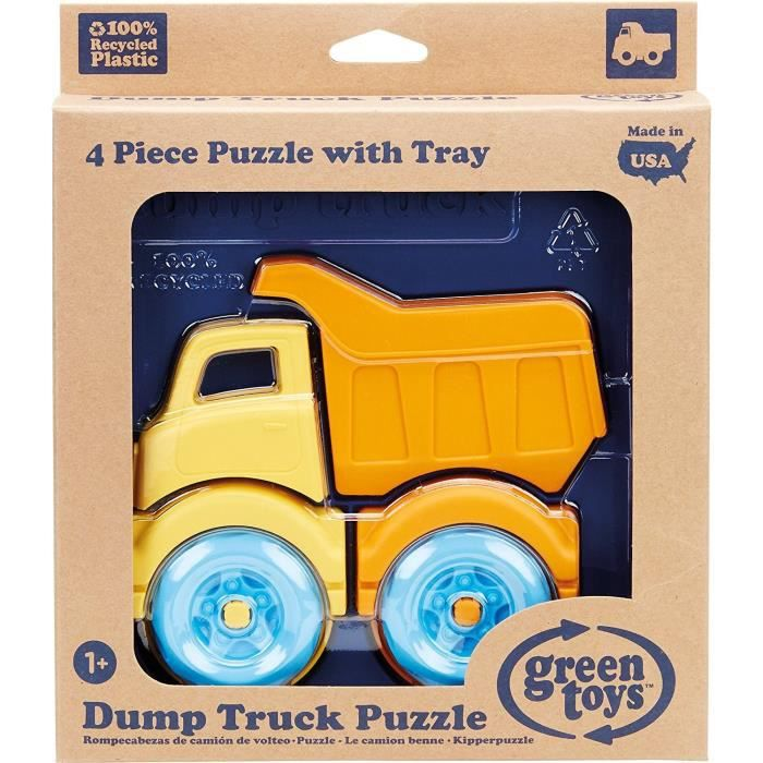 GREEN TOYS - Puzzle 3D motif camion NEW