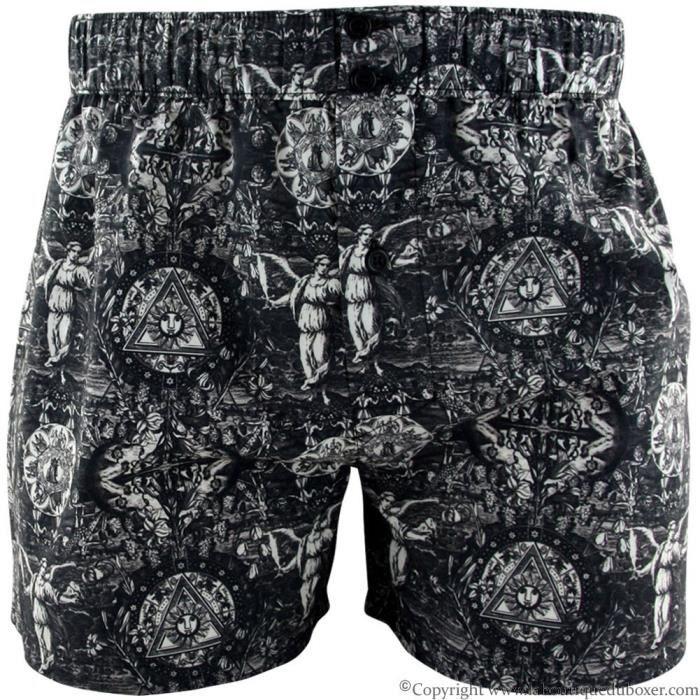 prix d'usine remise pour vente acheter en ligne PULL IN Caleçon Homme Coton ENGRAVED Noir