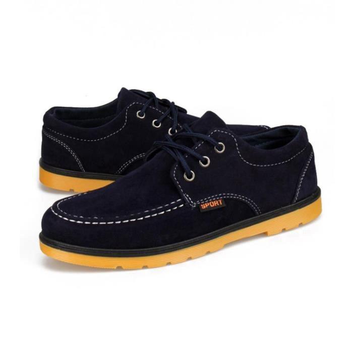 Homme Chaussures Bateaux Lacets Décontractées M... 0e44XFF